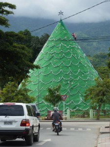 Conceptual Christmas Trees in Bali and Timor Leste