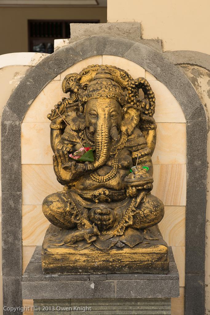 Ganesha Statues in Seminyak, Bali