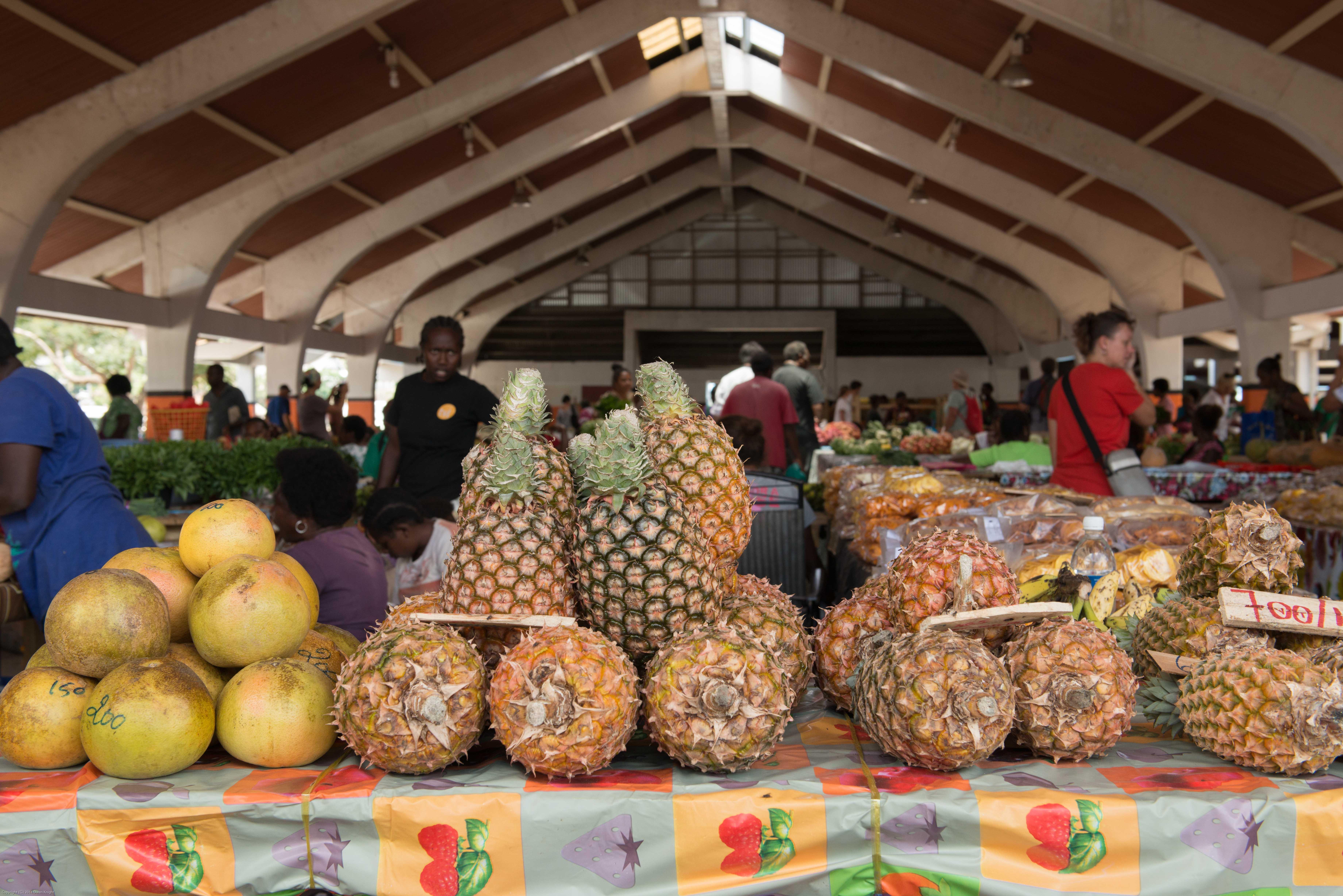 Vanuatu: Port Vila 24-Hour Market