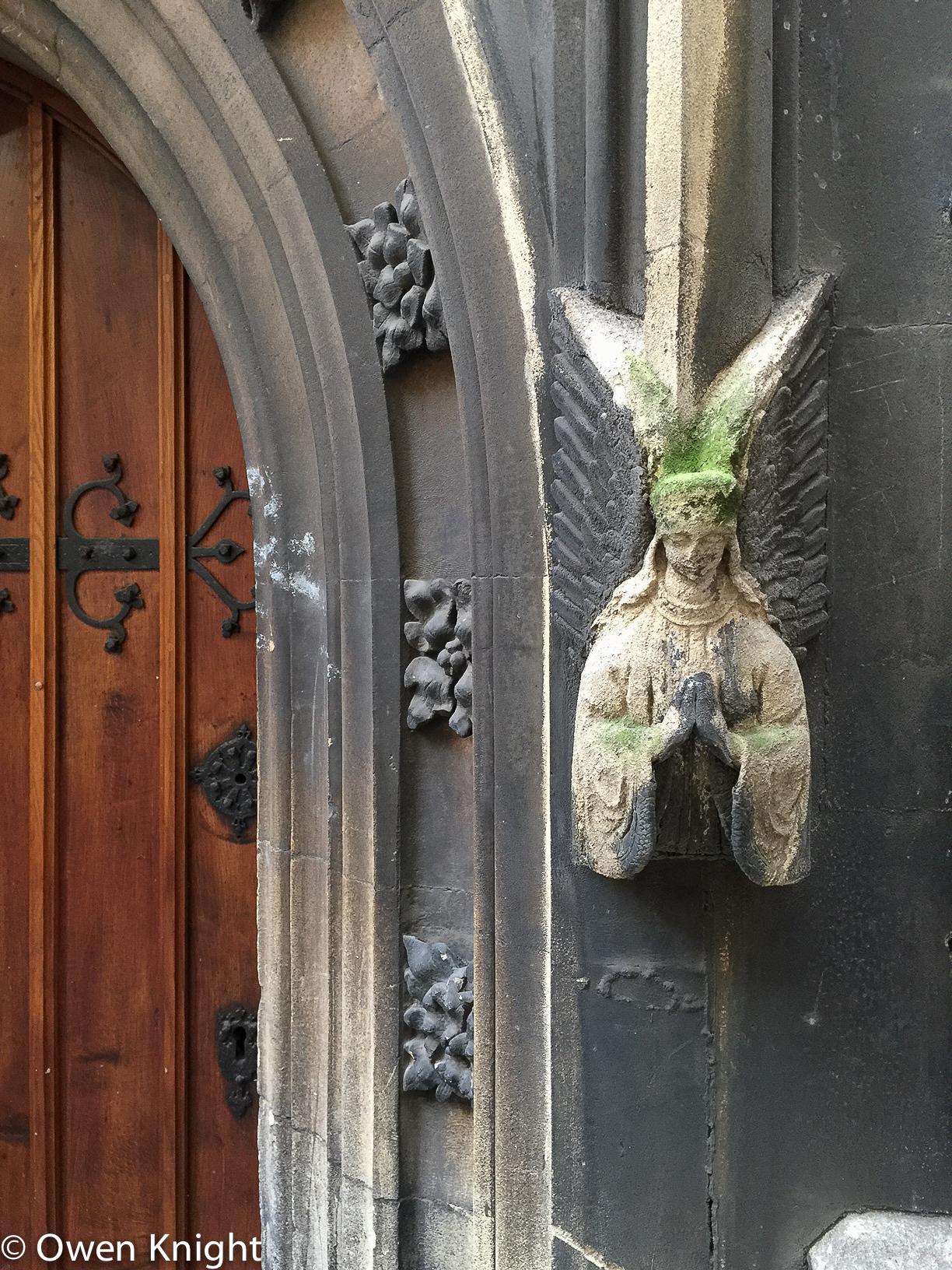 Angel, Former St Nicholas Church, Bristol