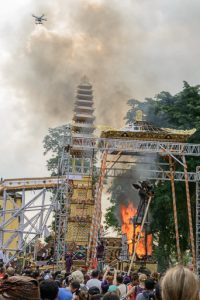 Cremation Ceremony for a Balinese Prince