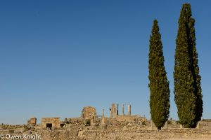 The Roman Ruins of Volubilis, Morocco