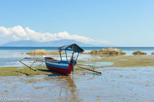 A Walk on the Shore in Dili, Timor Leste