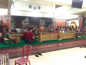 Balinese Gamelan Ensemble Rehearsal