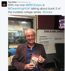 BBC Radio Essex Interview 24th November 2016