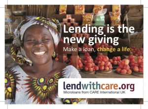 Lend With Care: The Gift of a Loan to Help People Work Their Way out of Poverty