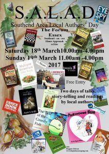 SALAD: Southend Area Local Authors' Day 18-19 March 2017