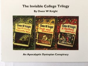 More Essex Bookshops to Stock The Invisible College Trilogy