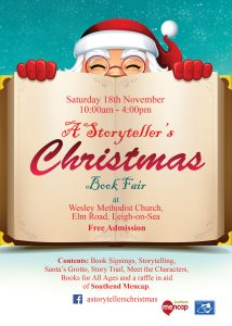 A Storyteller's Christmas: Saturday 18th November 2017, Leigh-on-Sea