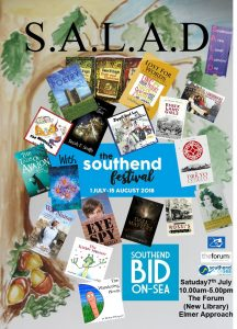 SALAD: Southend Area Local Authors' Day Saturday 7th July 2018