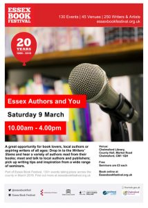 Essex Book Festival 2019: Essex Authors and You
