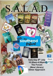 SALAD: Southend Area Local Authors' Day Saturday 6th July 2019