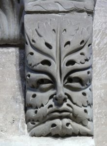 The Green Man Appears in Many Forms